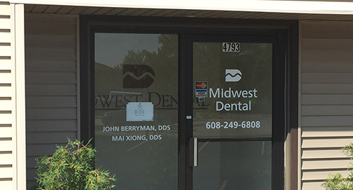 Midwest Dental Window Graphics