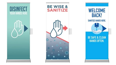 Sanitizing Stations & Stands