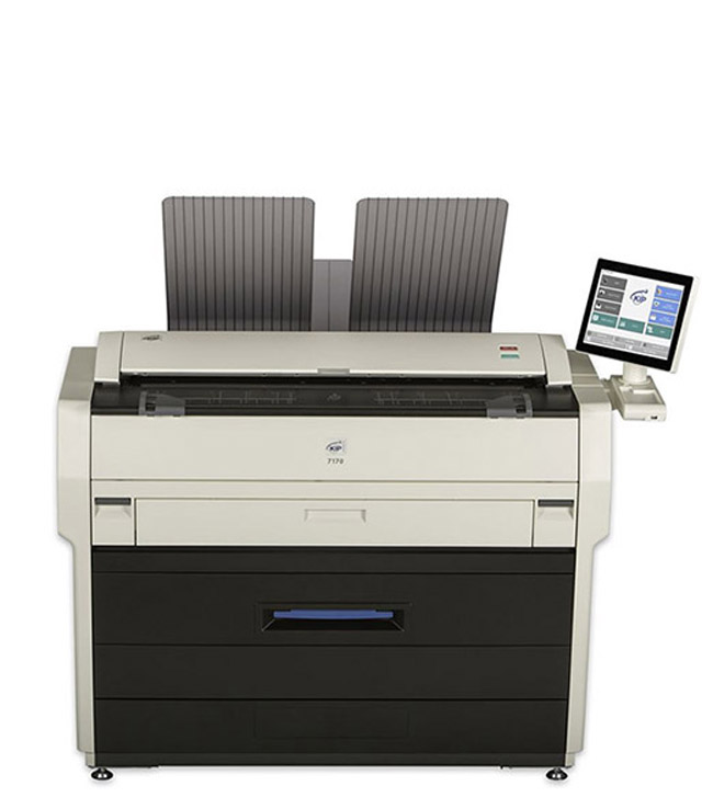 KIP 7171 Multi-Function Single Footprint System