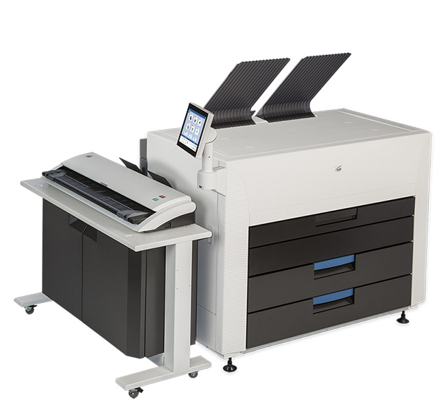 KIP 880 Multi-Function Color System with 720 CIS Scanner