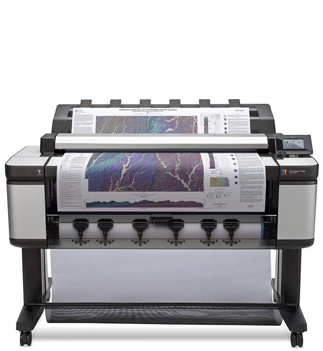 HP T3500 DesignJet eMultifunction Printer