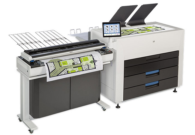 KIP 890 Multi-Function Color System with 2300 CCD Scanner