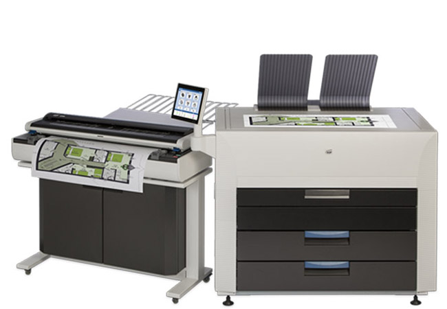 KIP 990 High Demand Production Multi-Function System with CCD Scanner