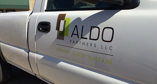 ALDO Partners Truck Graphics