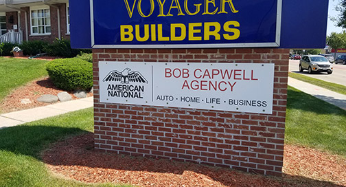 Bob Capwell Agency Sign