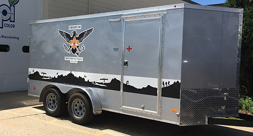 Boy Scout Trailer