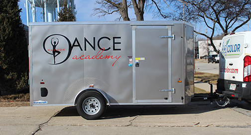 Madison Dance Academy Trailer graphics