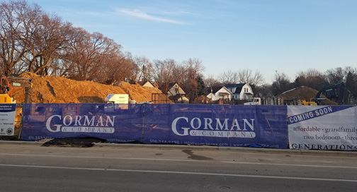 Gorman Mesh Construction Fence