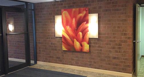Hall Fine Art Print