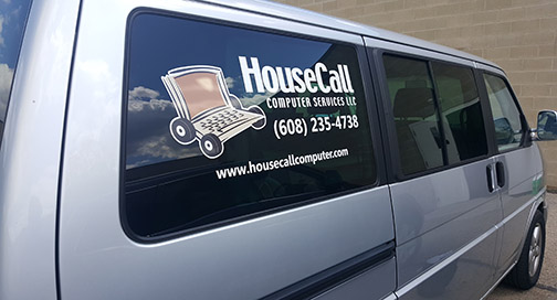 House Call Van Graphics