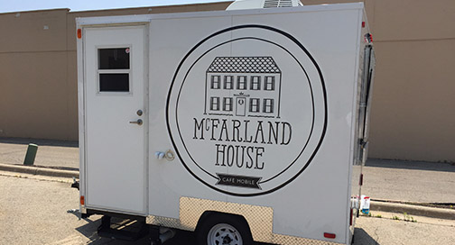 McFarland House Food Trailer
