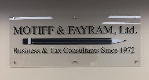 Motiff and Fayram Sign