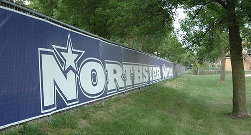 Northstar Fence Banner