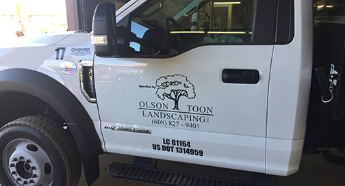Olson Toon Truck Graphics