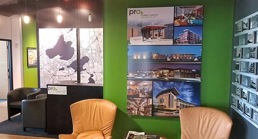 PRA Lobby Display
