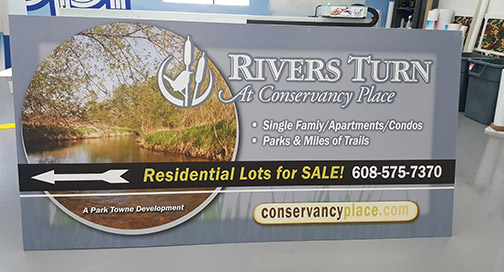 Rivers Turn Sign