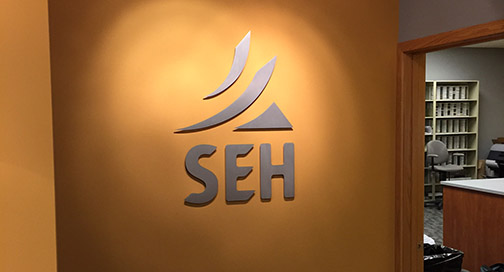 SEH Wall Sign
