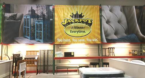Steinhafels In-Store Banner