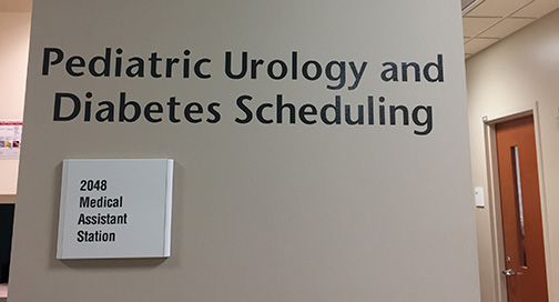 UW Health East Clinic Wall Graphics and Sign by BPI Color