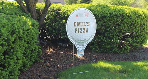 WGA Golf Yard Sign by BPI Color