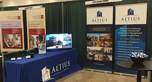 Altius Banner Stands