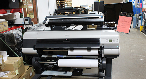 Used Canon printers at BPI Color