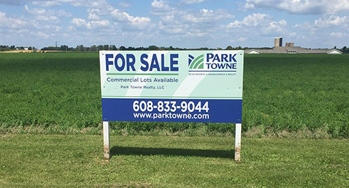 Park Towne for Sale Signs