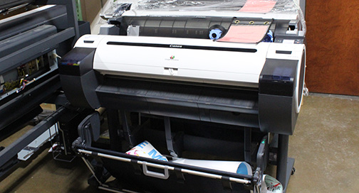 Used Canon printers for sale at BPI Color