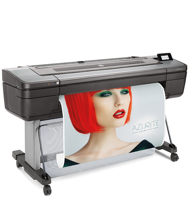 HP DesignJet Z9+ dual roll 44-in PostScript Printer with Vertical Trimmer