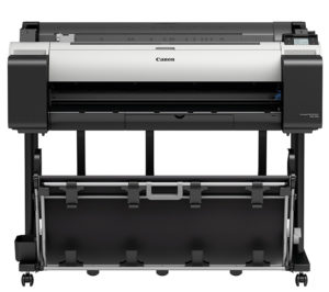 Canon imagePROGRAF TM-305 36-in Printer w/Flat Stacking Basket