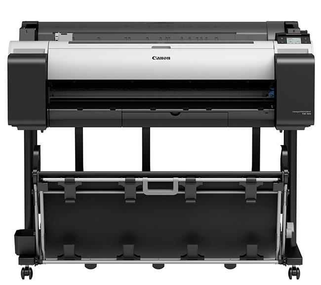 Canon imagePROGRAF TM-305 36-in Printer w/Flat Stacking Basket
