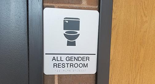 ADA All Gender Sign