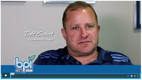 Listen to Todd Eckert speak about his experience with BPI Color