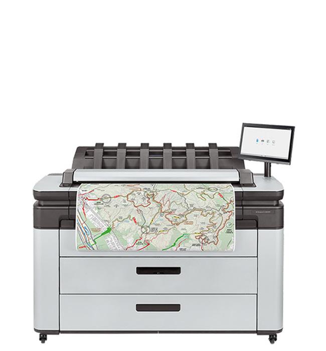 HP DesignJet XL 3600 MFP series