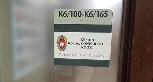 Room Sign 1