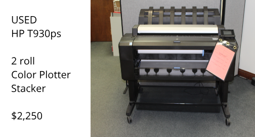Used HP T930 Printer for sale