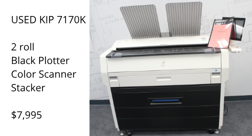 USED KIP 7170K MFP BPI COLOR