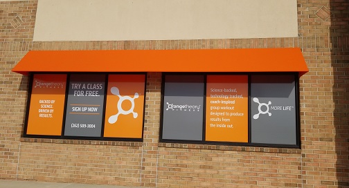 BPI Color prints Window Decals