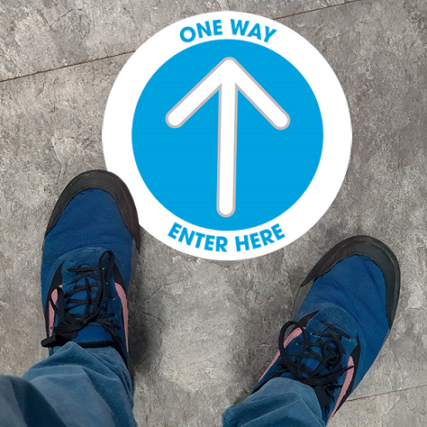Wayfinding Signs - Double Bubble Theme