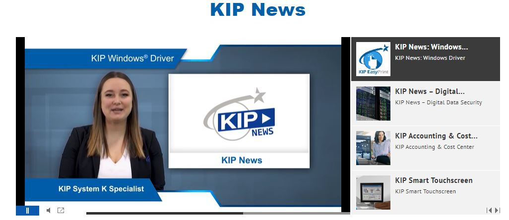 New KIP News Feed