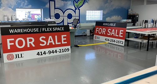 JLL For Sale Signs