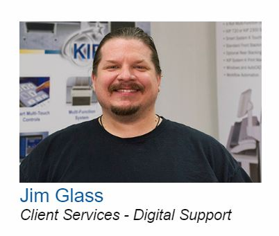 BPI Color - Jim Glass celebrates milestone - 25 years with BPI