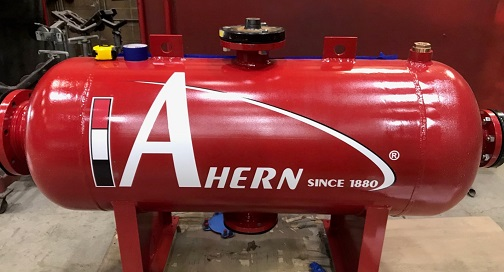 Ahern Machinery Graphics Cut Logo