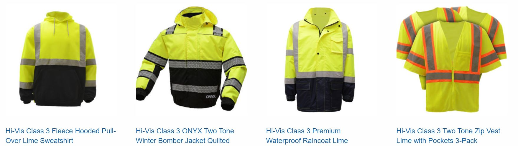 Choices, choices, choices at BPI Color's Hi-Vis stores.