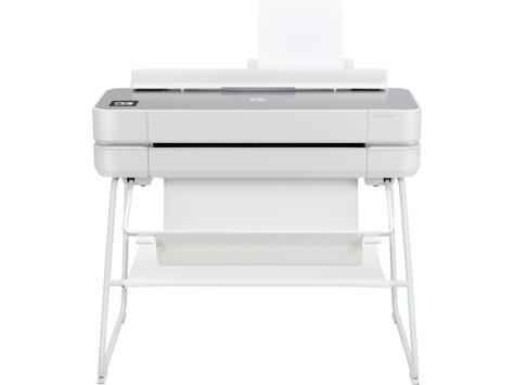 HP DesignJet Studio 24-in Printer in Steel or Wood Finish