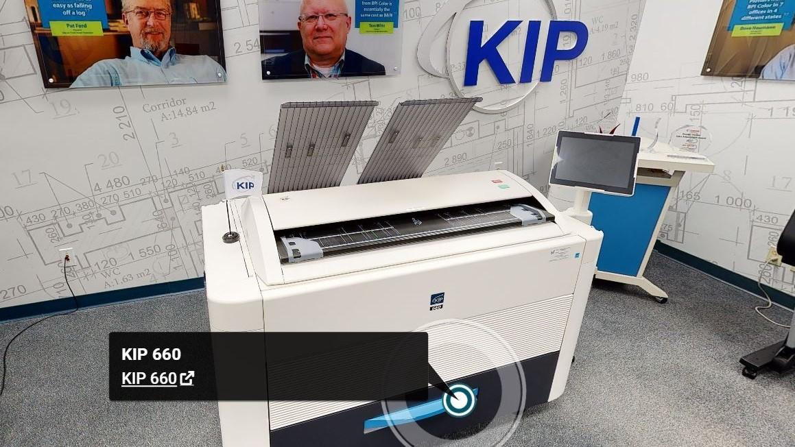 3D Scanning KIP Demo Room