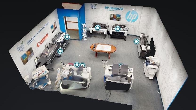 3D Scanning Demo Room