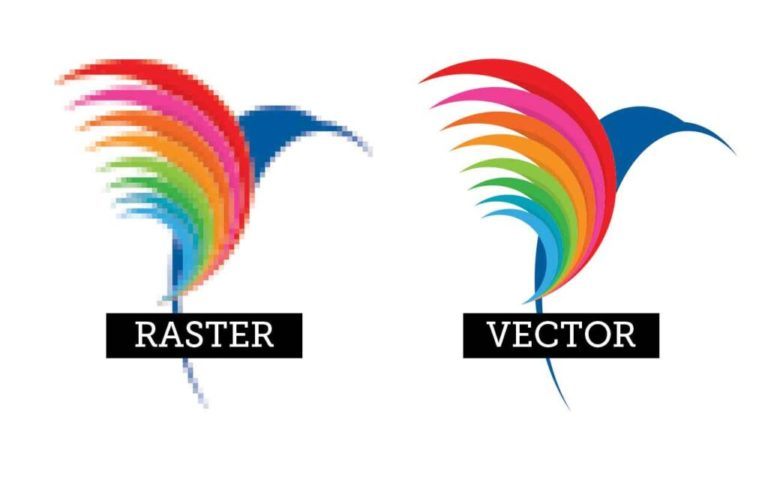 BPI Color - Raster vs Vector Images. The Important Differences.