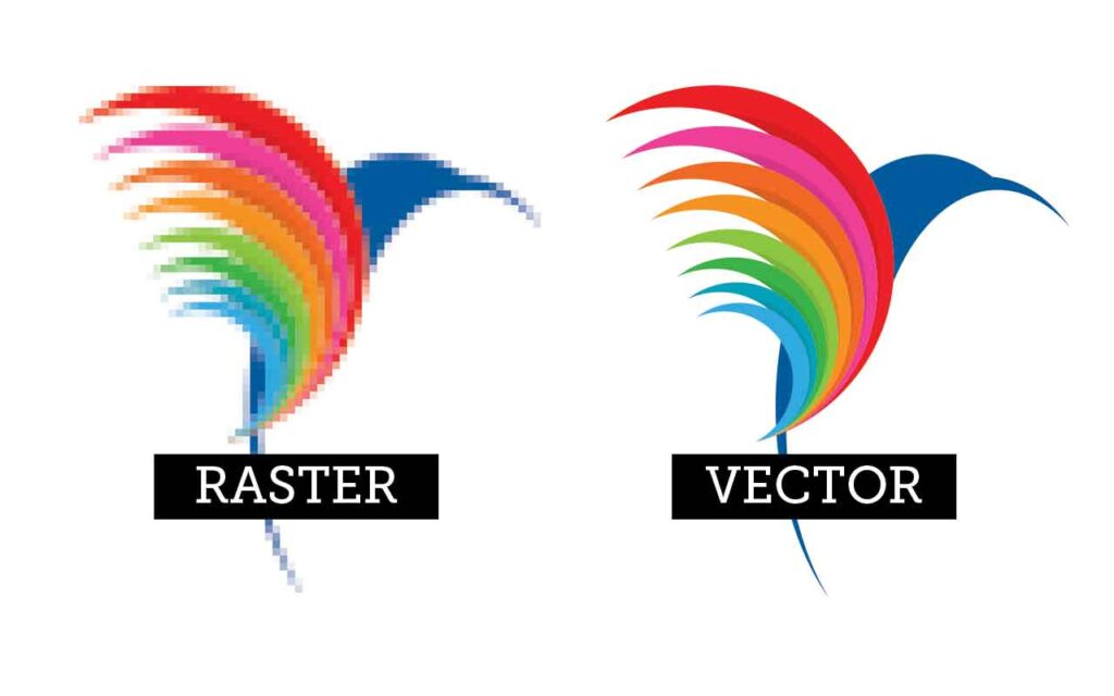 When to use Vector over Raster Imaging