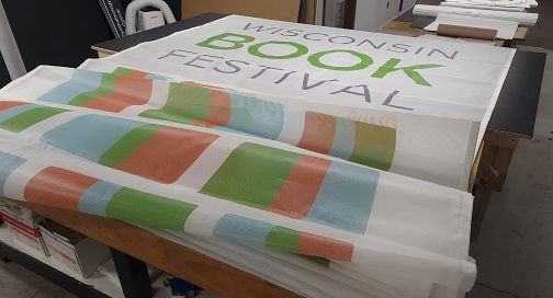 30 foot long banner by bpi color